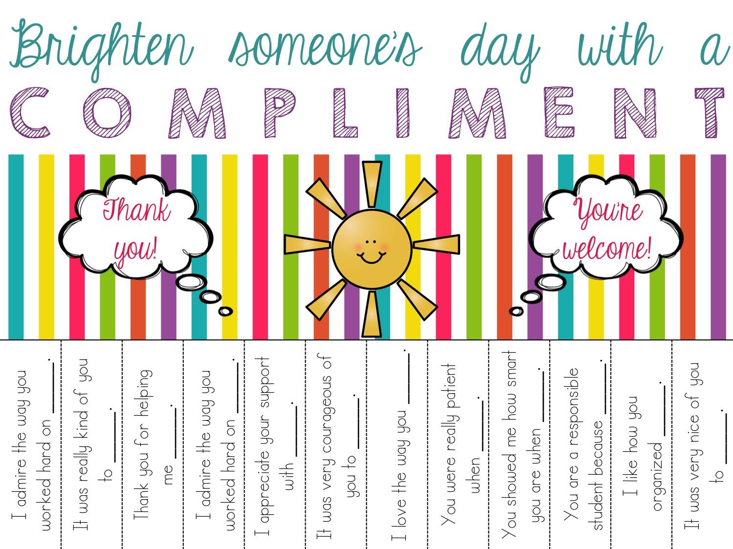 Puterea unui compliment
